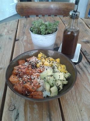 Poke bowl healthy cuisine joyeuse oloron